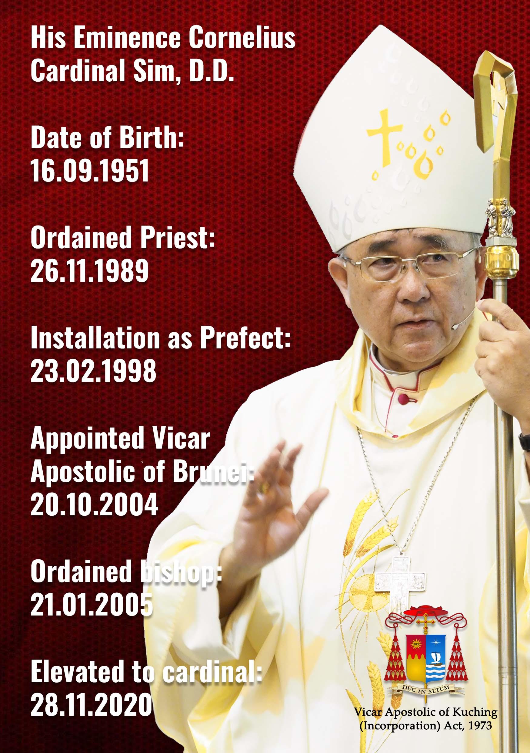 Cardinal Cornelius Sim 2