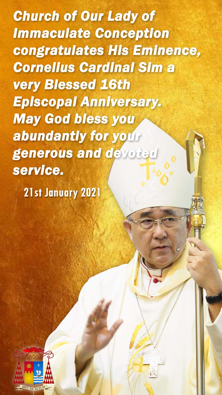 Bishop 16th anniversary