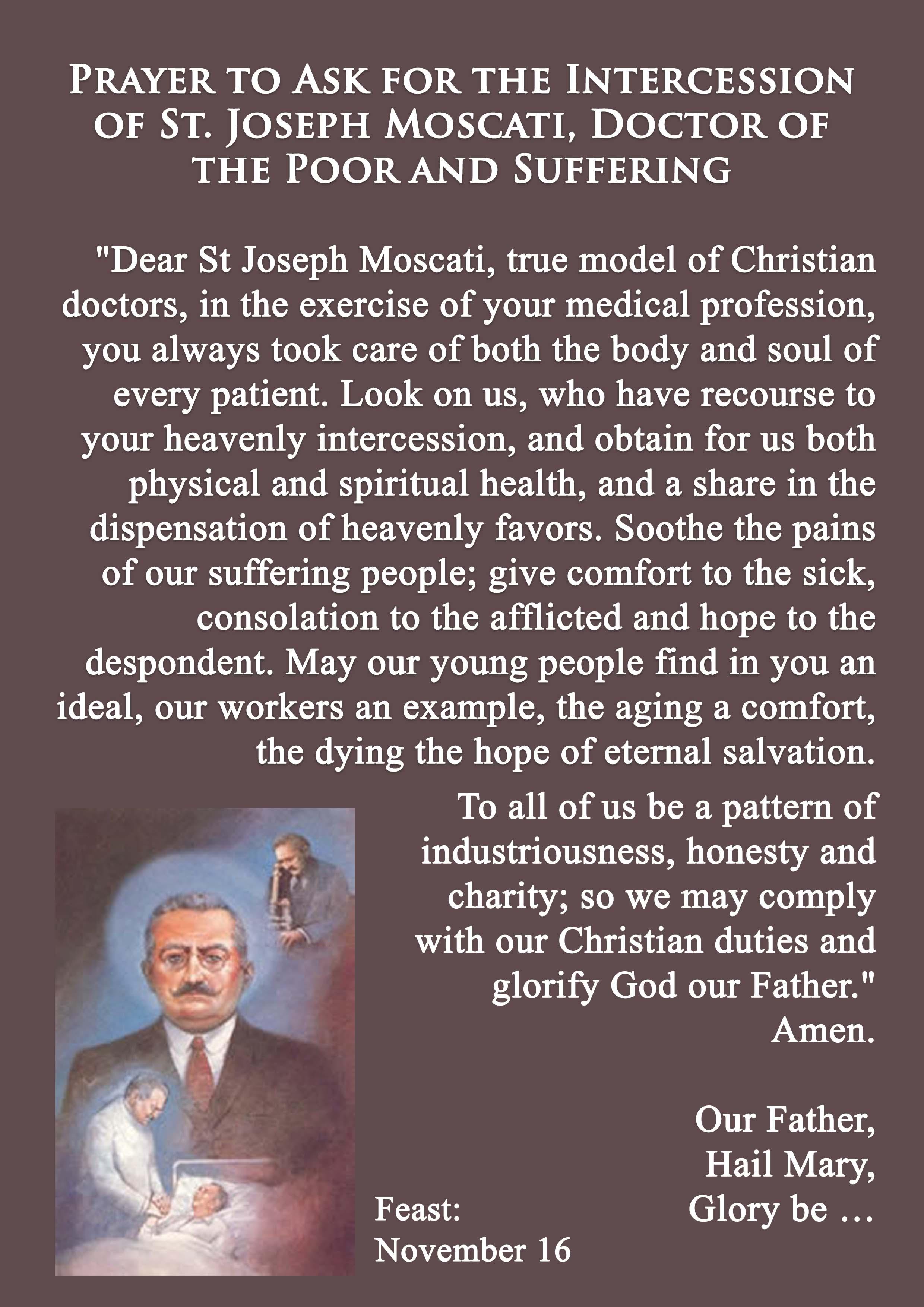 St Joseph Moscati